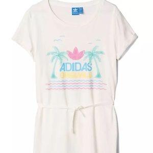 ADIDAS Lighting Print Dress S18513 Size SMALL